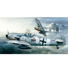 Academy Avión Messerschmitt BF109G-6 1/72