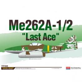 Academy Avión Me262A-1/2 Late Ace LE 1/72