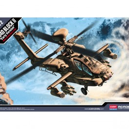 Academy Helicóptero AH-64D Block II 1/72