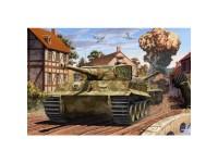 Tanque Tiger-I Mid Ver. Normandy LE 1/35