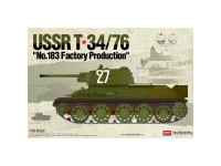 Academy Tanque USSR T-34/76 183 fact. Prod. 1/35