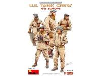 Figuras U.S. Tank Crew NW Europe 1/35