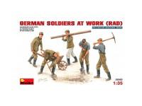 Figuras German Soldiers at Work RAD 1/35