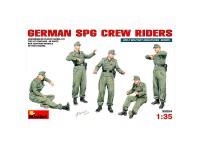 Figuras German SPG Crew Riders 1/35