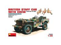 MiniArt Coche British Staff + Crew 1/35