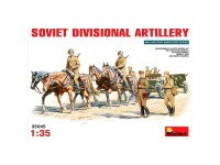 Figuras Soviet Divisional Artillery 1/35