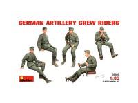 Figuras German Artillery Crew Riders 1/35