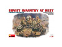 Figuras Soviet Infantry at Rest 1/35