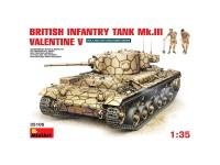 Tanque British Inf. Mk3 Valent. Mk5 1/35