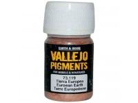 Pigmento Vallejo Tierra Europea 35ml