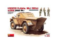 Figuras Leichter Pz Kpfw Mk 1202e 1/35