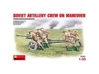 Figuras Soviet Artillery Maneuver 1/35