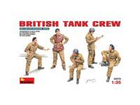 MiniArt Figuras British Tank Crew 1/35