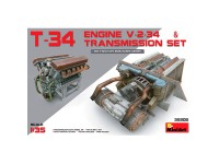 Acc T-34 EngineV-2-34 +Transmission 1/35