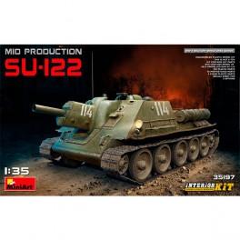 Tanque SU-122 Mid Production I.K. 1/35