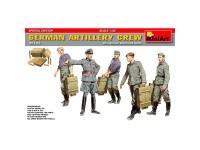 Figuras German Artillery Crew Sp.Ed 1/35
