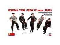 Figuras German Tank France 1940 1/35