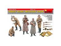 Figuras Soviet Heavy Artillery SE 1/35