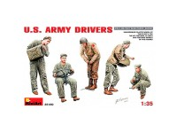 MiniArt Figuras U.S. Army Drivers 1/35