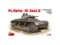MiniArt Tanque Pz.Kpfw.3 Ausf.D 1/35