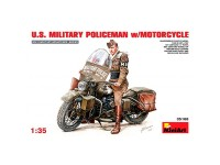 Figura US Militar Police Motorcycle 1/35