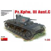 MiniArt Tanque Pz.Kpfw.3 Ausf.C 1/35