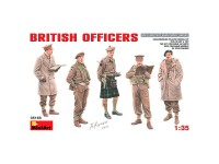 MiniArt Figuras British Officers  1/35