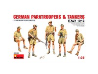 Figura Germ Paratroopers Tankers 43 1/35