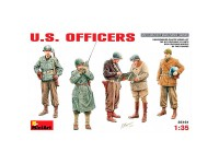 MiniArt Figuras U.S.Officers 1/35