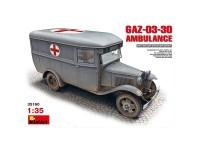 MiniArt Vehículo GAZ03-30 Ambulance 1/35