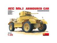 Vehículo AEC Mk 1 Armoured Car 1/35