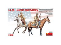 Figuras U.S. Horsemen Normandy 1944 1/35