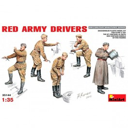 MiniArt Figuras Red Army Drivers 1/35