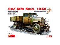 Camión GAZ-MM Mod 1943 Cargo Truck 1/35