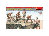 Figuras Germ Tank Crew Afrika Korps 1/35