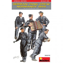 Figuras German Crew Normandy 1944 1/35