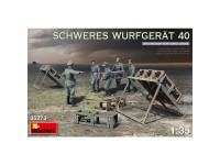 MiniArt Figuras Schweres Wurfgerat 40 1/35