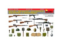 Acc Soviet Automatic Weapons/Equip 1/35