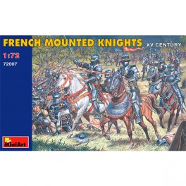 Figuras French Mounted Knights. XV 1/72
