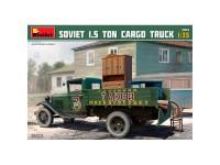 MiniArt Camión Soviet 15T Cargo 1/35