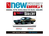 Maqueta AMT Shelby GT350 1967 Black 1:25