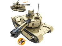 RC Tanque 2.4G 8CH con batería 1276 pcs
