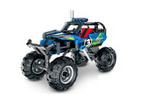 Coche Off-Road Azul Pull Back 193 pcs