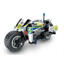 Moto de Policía Pull Back 193 pcs