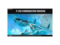 Acad Avión P-38 Combination Version 1/48