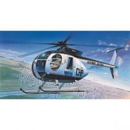 Acad Helicóptero Hughes 500D Police 1/48