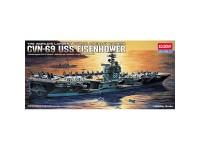 Acad Buque USS CVN-69 Eisenhower 1/800