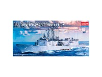 Buque US Oliver Hazard Perry FFG-7 1/350