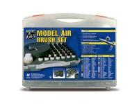 Set of 29 Model Air Basic Colours & Airbrush
