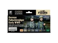 Set of German Fallschirmjäger Early WWII